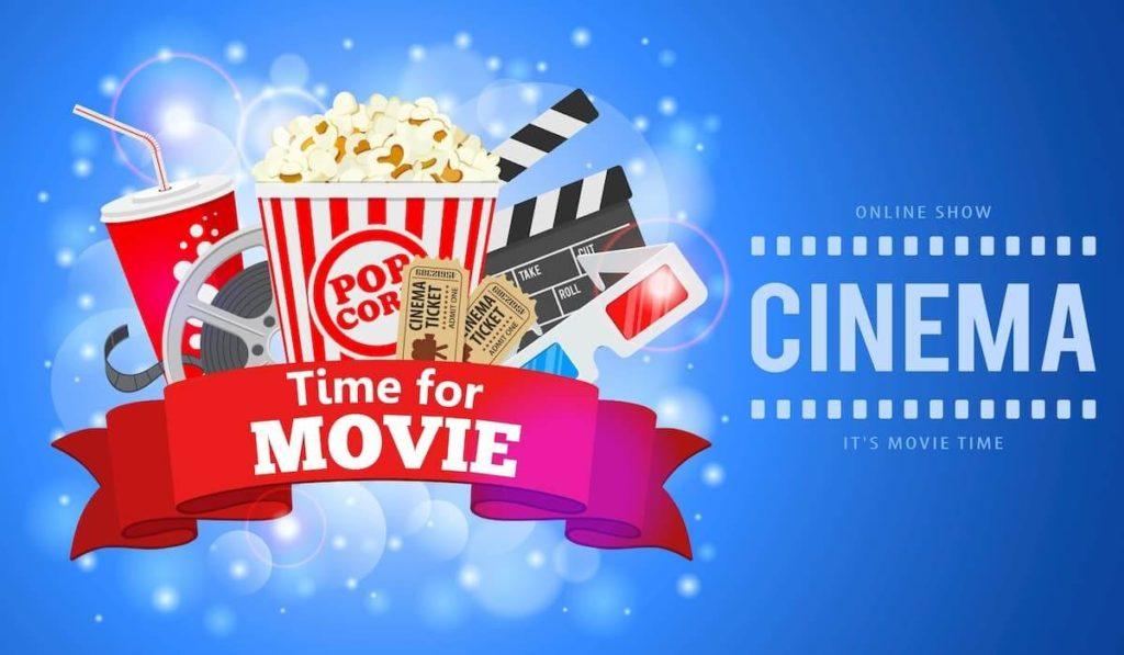 映画とポップコーンとコーラ