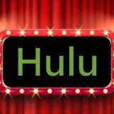 フールーとは huluの文字が劇場に
